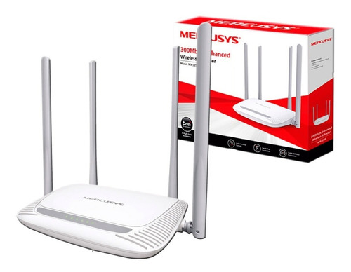 router wifi mercusys mw325r tp-link 300mbps 4 antenas pc