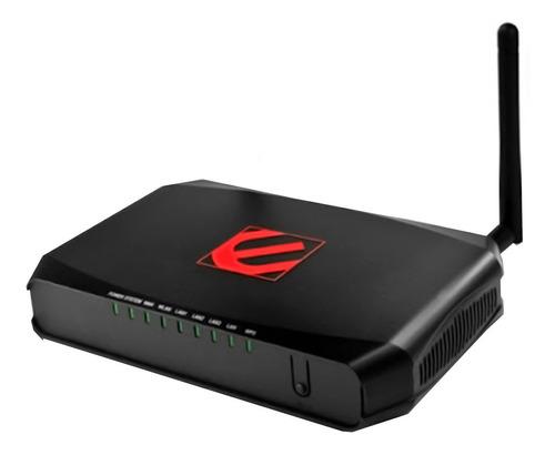 router wifi modem adsl encore 150mbps 4 puertos ethernet