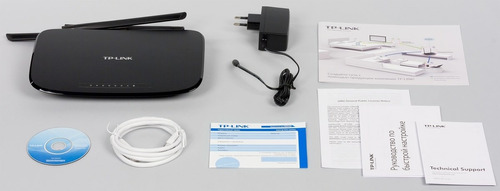 router wifi n 450 mbps 3 antenas 4puertos tplink wr941nd 941
