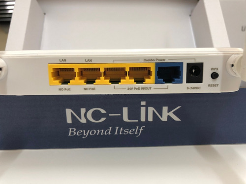router wifi nc-link  wr-26 300mbps poe in/out sin fuente
