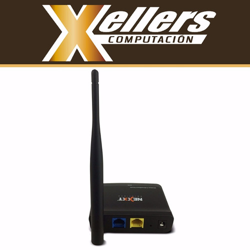 router wifi nexxt  150mbps wireless n mini nyx 150 - xellers