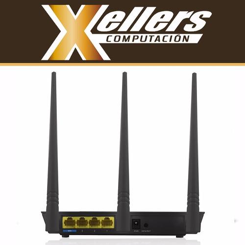 router wifi nexxt nebula 300 plus 300mbps rompemuros xellers
