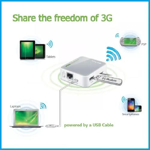 router wifi portatil tp-link tl-mr3020 modem 3g 4g oferta