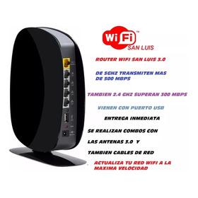 Router Wifi San Luis 3.0 Alta Velocidad Usb Cpe
