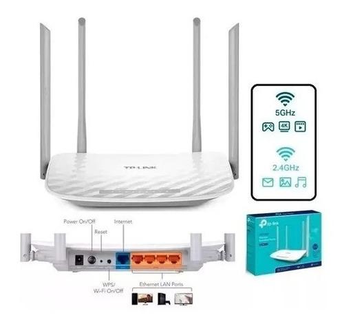 router wifi tp link ac1200 archer c50 band dual 4 antenas cl