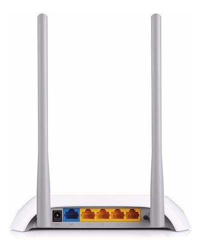 router wifi tp-link tl-wr840n n300 v5 2.4ghz 2 antenas 300mb