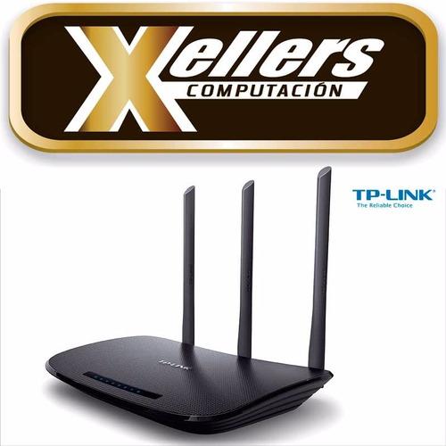 router wifi tp-link tl-wr940n 450mbps  3 antenas envio
