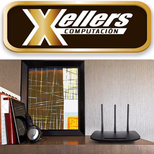 router wifi tp-link  tl-wr940n 450mbps 3 antenas - xellers