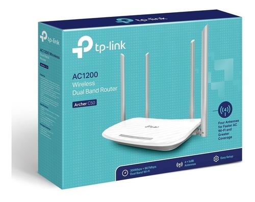 router wifi tplink 1200mb archer c50 dual band garantía 5año
