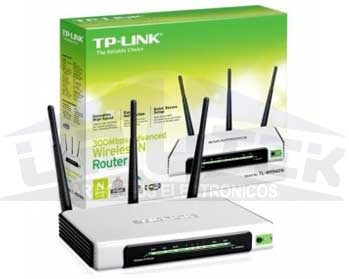 router wireless link