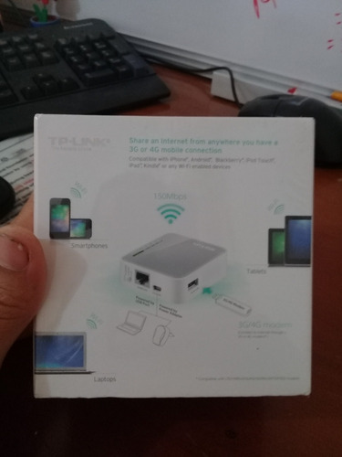 router wireless n portable 3g/4g tp-link tl-mr3020