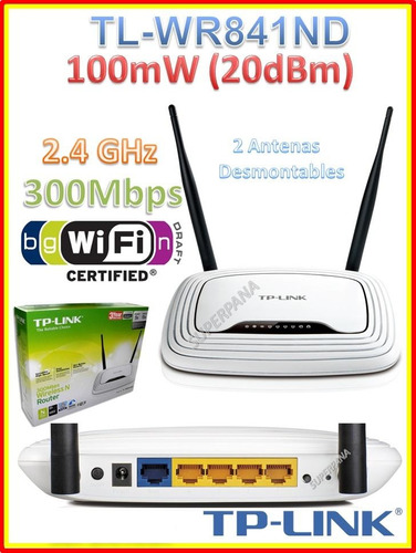 router wireless n tp-link tl-wr841nd 300mbp wds qss qos wifi