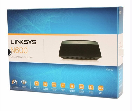 router wireless n wifi linksys de cisco e2500 dual band 4lan