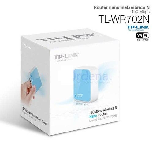 router wireless n150 tp-link tl-wr702n repetidor wifi ap usb
