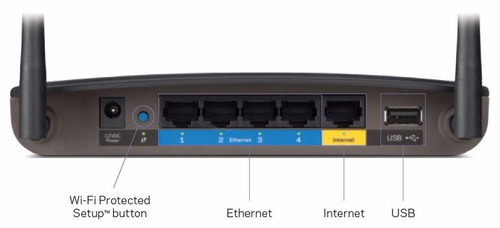 router wireless smart wifi ac1200 linksys ea6100 dual band