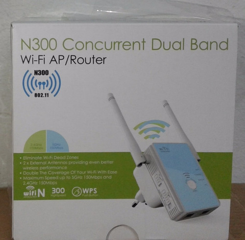 router y repetidor  wifi 300mbps suministros fauca