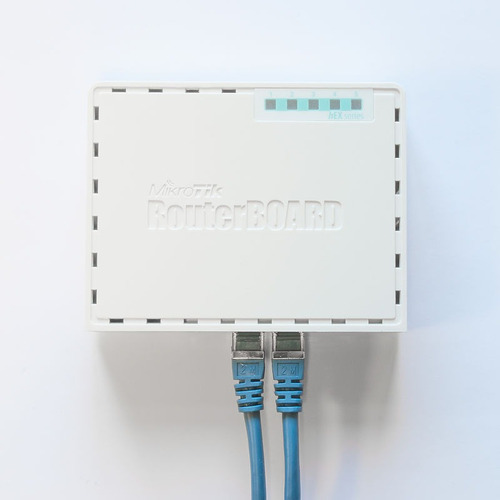 routerboard mikrotik rb750gr3 hex + balanceo + hotspot wifi