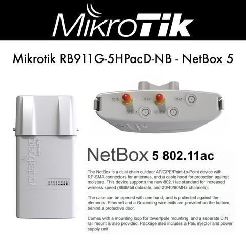 routerboard rb 911g-5hpacd-nb netbox-5 l4 ptp pmp
