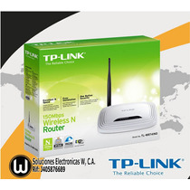 Router Inalambrico Tp Link 741nd 150mbps.somos Tienda Fisica