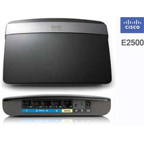 Router Cisco Linksys E2500 Wireless N 600mbps 5 Y 2.4 Ghz 10