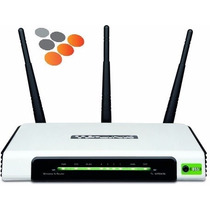 Router Tp Link Tl-wr940n 3 Antenas 300mbps Tipo N