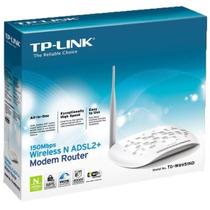 Router + Modem Tplink 1 Antenas Wifi Inalambrico 150 Mbps