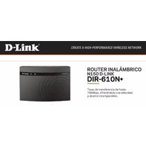 D-link Dir-610n+ Router Inalambrico N De 150mbps Oferta