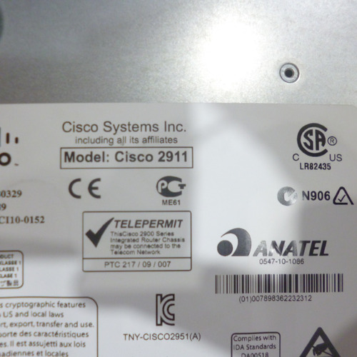 routers cisco 2900 series modelo 2911
