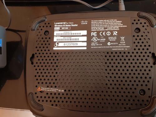 routers inalámbrico linksys cisco wrt120n