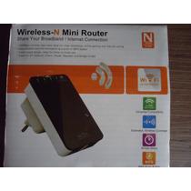 Repetidor Y Amplificador De Señal Wi-fi. Excelente.