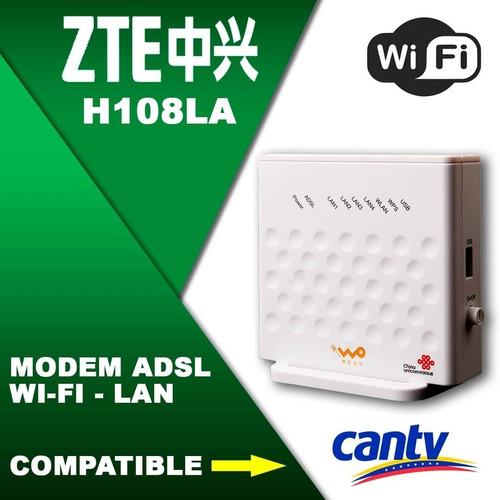 routers modem zte h108l wifi mayor y detal