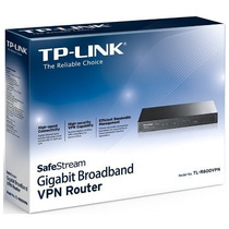 Router Vpn Banda Ancha Vpn 10/100/gigabit Tp-link Tl-r600vpn
