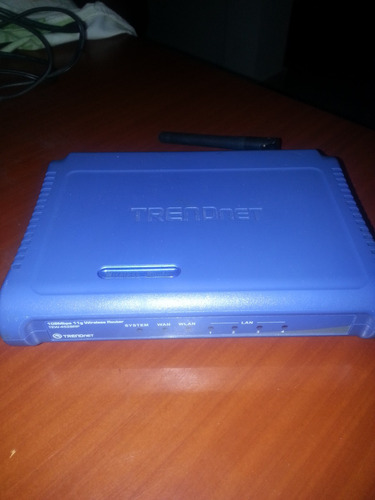 routers trendnet inalambrico  tew-452brp 108 mbps