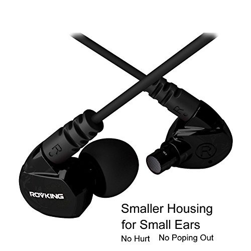 rovking corriendo auriculares con micrófono sobre el oído en