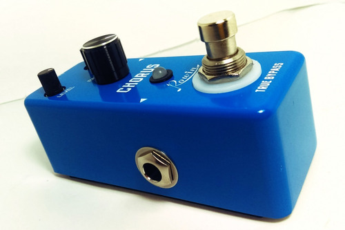 rowin chorus mini pedal guitarra clone bajo corona efecto