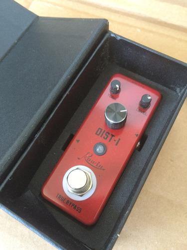 rowin pedal distorsion i guitarra british crunch box