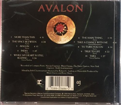roxy music - avalon - cd importado usa novo