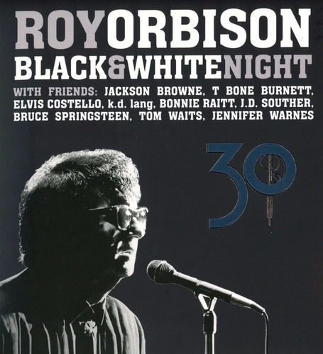roy orbison black & white night 30  blu-ray + cd nuevo impor