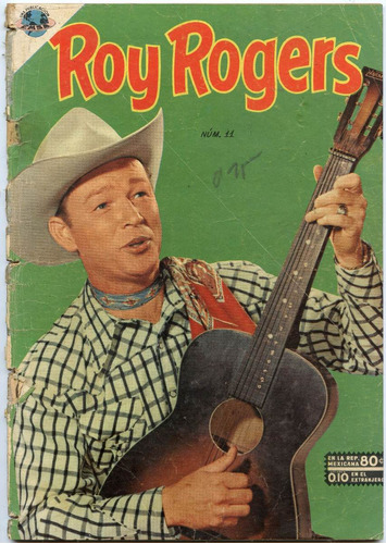 roy rogers  nº11 , julio 1953, novaro
