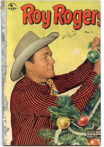 roy rogers  nº4 , diciembre 1952, novaro
