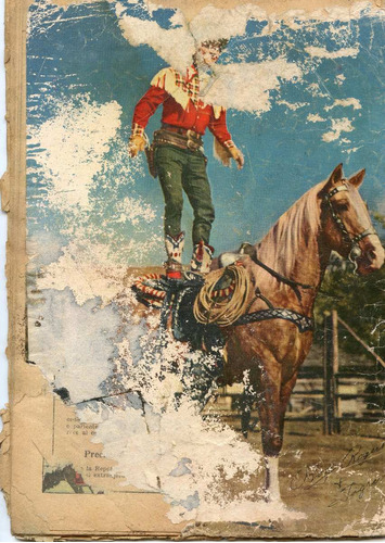 roy rogers  nº5 , enero 1953, novaro