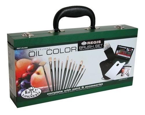 royal and langnickel oil color estuche de pintura oleo *full