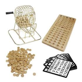 Royal Bingo Supplies Juego De Bingo De Madera