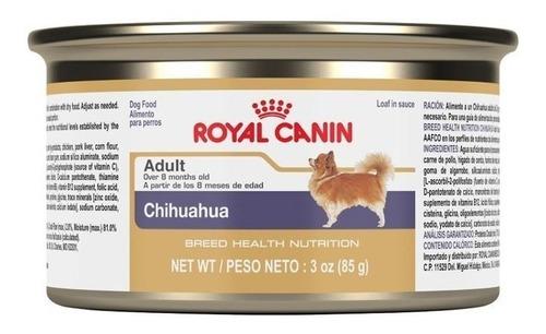royal canin breed health nutrition chihuahua pan en salsa de