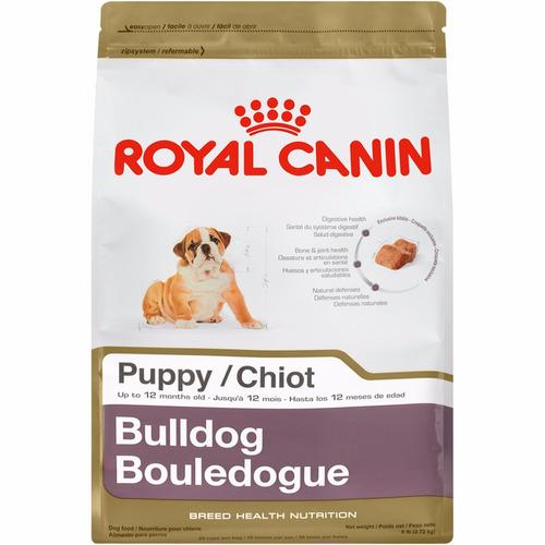 royal canin bulldog puppy 13.63kg envió gratis lacroqueteria