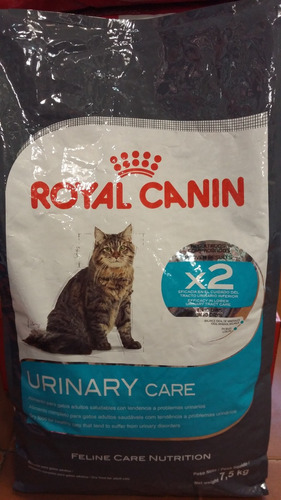 royal canin cat urinary care x 7.5 kg. sabuesos vet