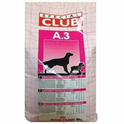 royal canin club a3 15kg envio gratis la croqueteria