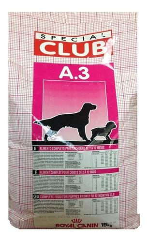 royal canin club a3 de 15kg
