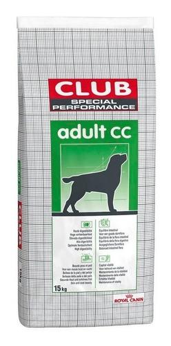 royal canin club cc 15 kg - envío gratis