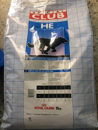 royal canin club he 15 kg